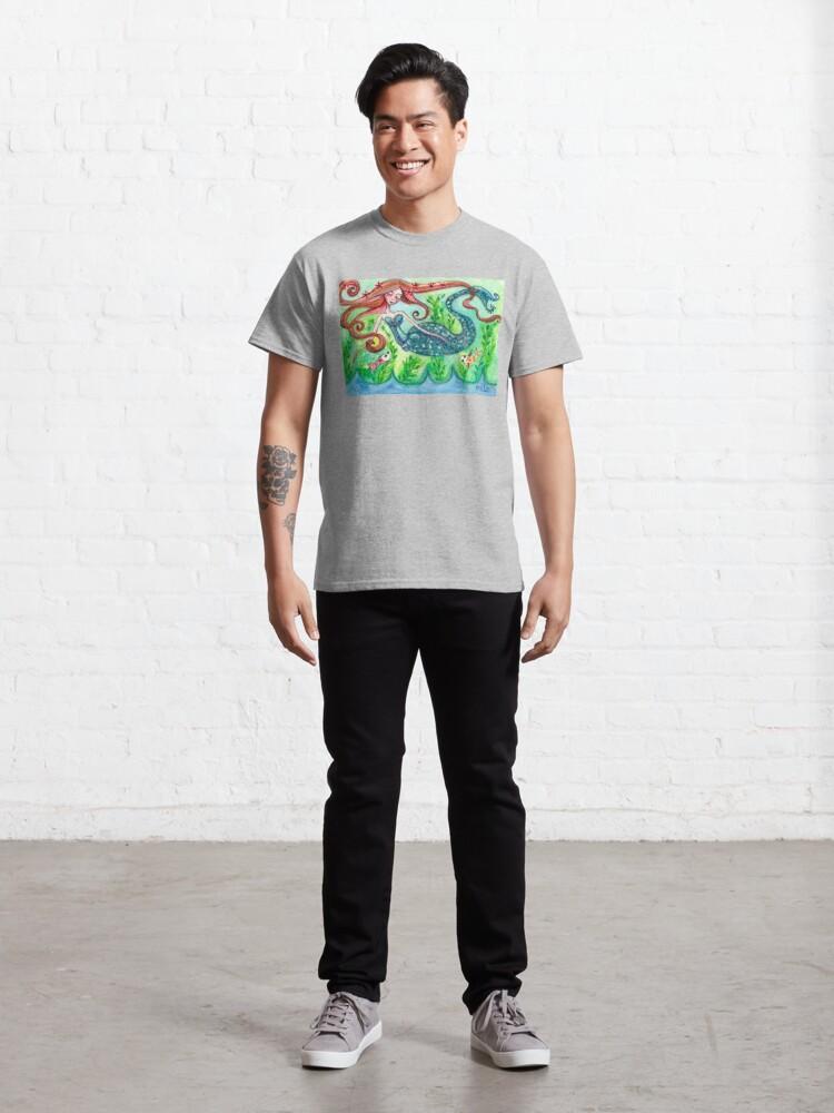 Alternate view of Underwater Star  Classic T-Shirt