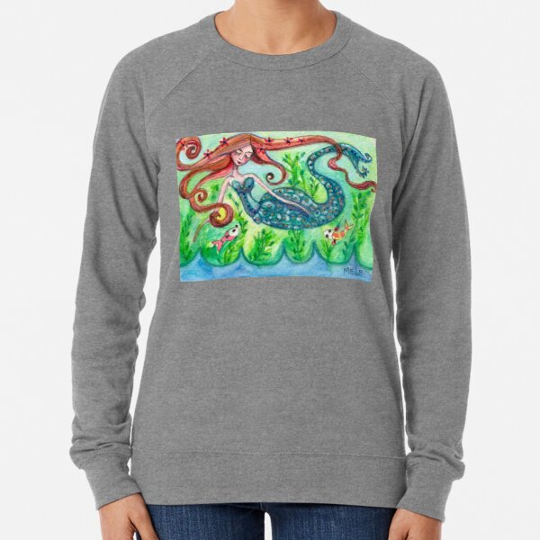 Underwater Star  Lightweight Sweatshirt