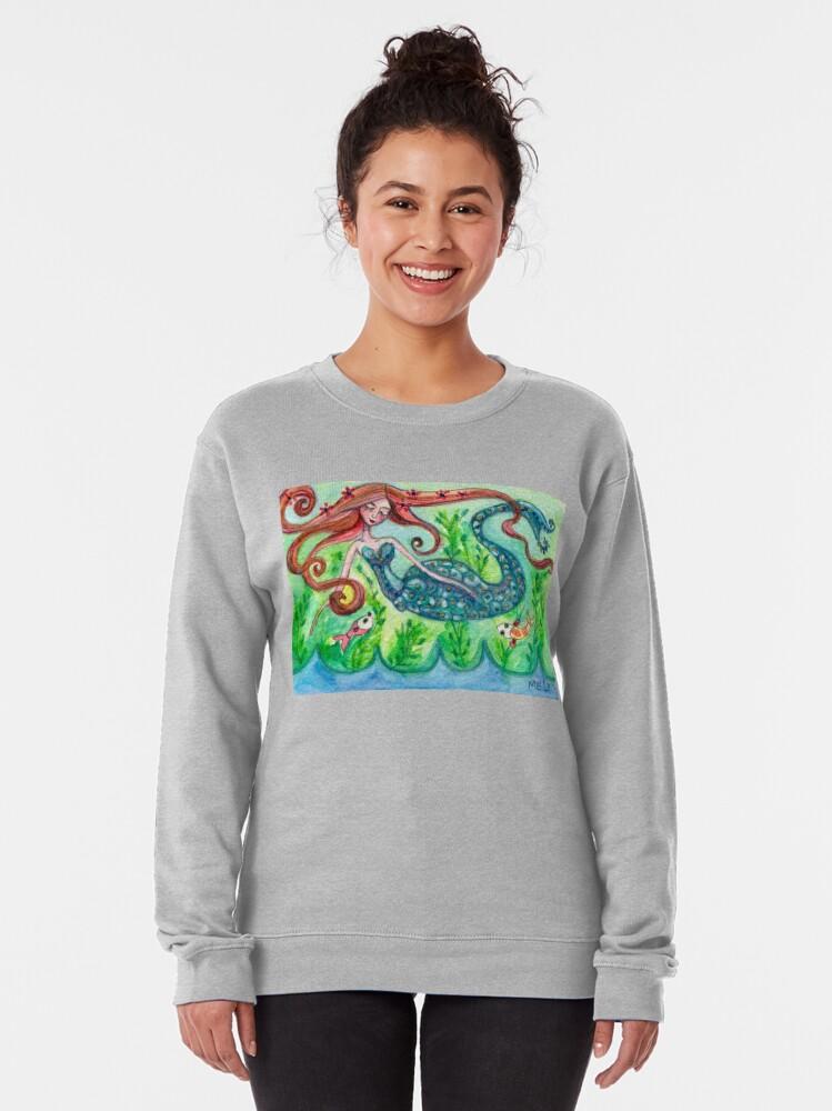Alternate view of Underwater Star  Pullover Sweatshirt