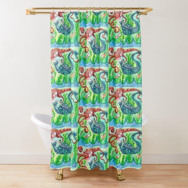 Underwater Star  Shower Curtain