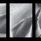 Snow Dunes Abstract by Dobromir Dobrinov