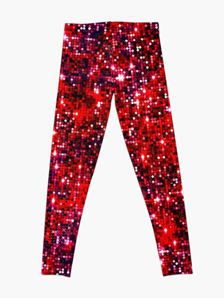 Alternate view of Bright red Leggings
