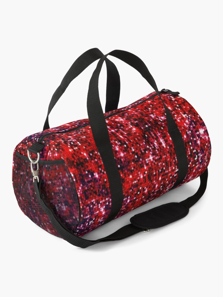 Alternate view of Bright red Duffle Bag