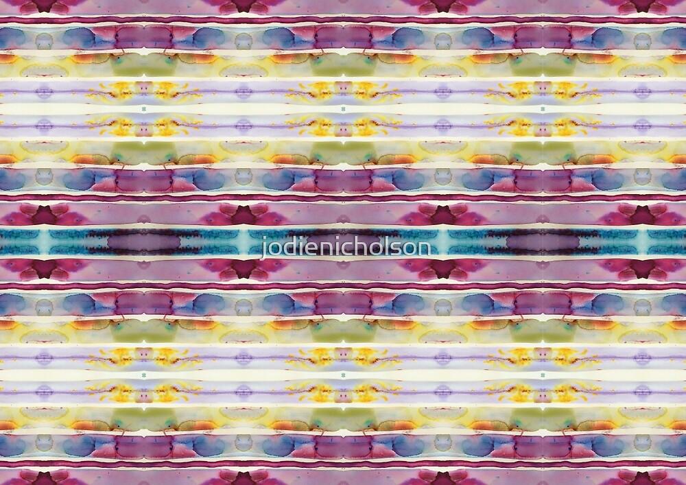 Brusho in Purple  by Jodie Nicholson