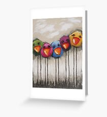 The Birds Greeting Card