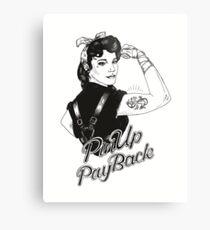 PinUp PayBack Big Sister Metal Print