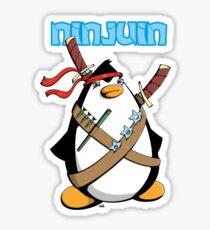 Ninjuin - The Ninja Penguin Sticker