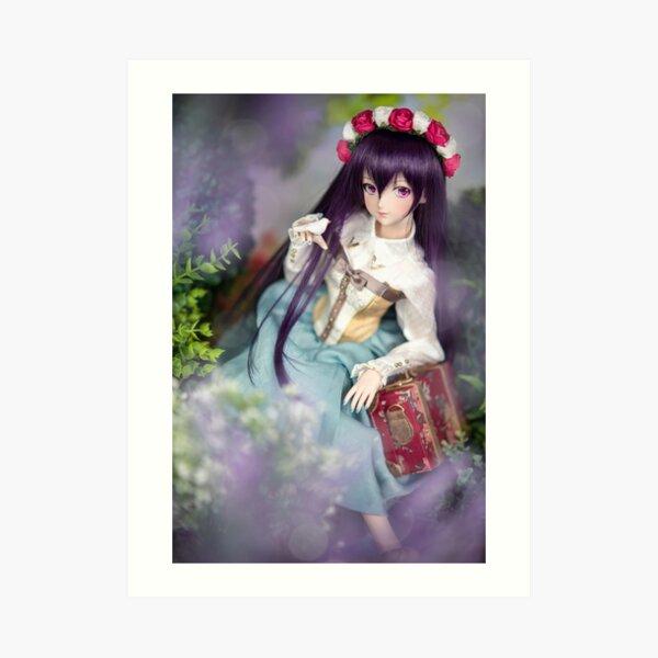 Dollfie Dream Megurine Luka - Kaguya Art Print