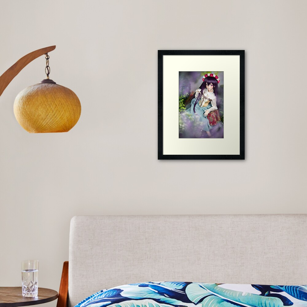 Dollfie Dream Megurine Luka - Kaguya Framed Art Print
