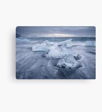 Jokulsarlon Icebergs Canvas Print