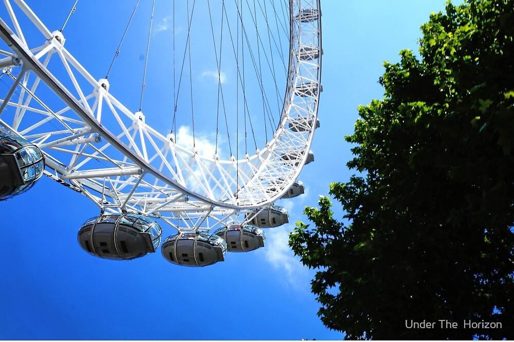 London Eye by Under The  Horizon
