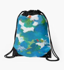 Adriatic Drawstring Bag