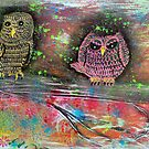 Owl Totem by Laura Barbosa