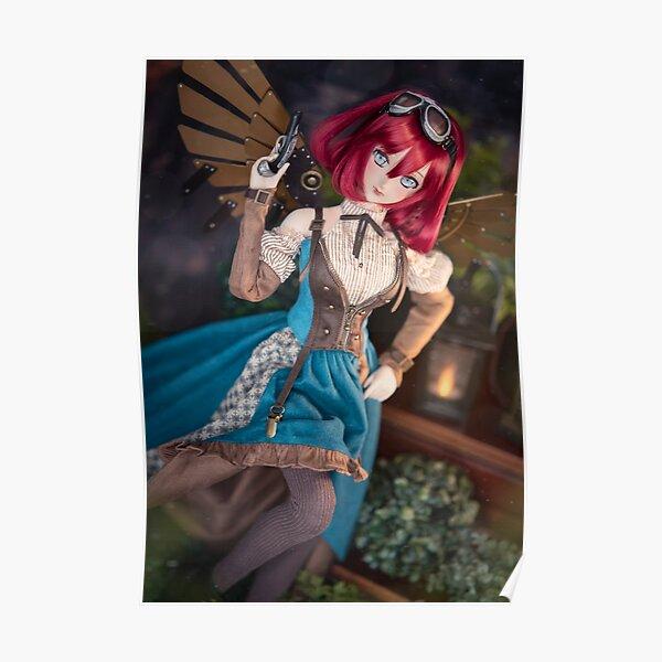 Steampunk Fashion Dollfie Dream Doll DDH07 - Seiko Poster