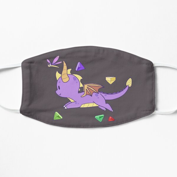Spyro Dash Flat Mask