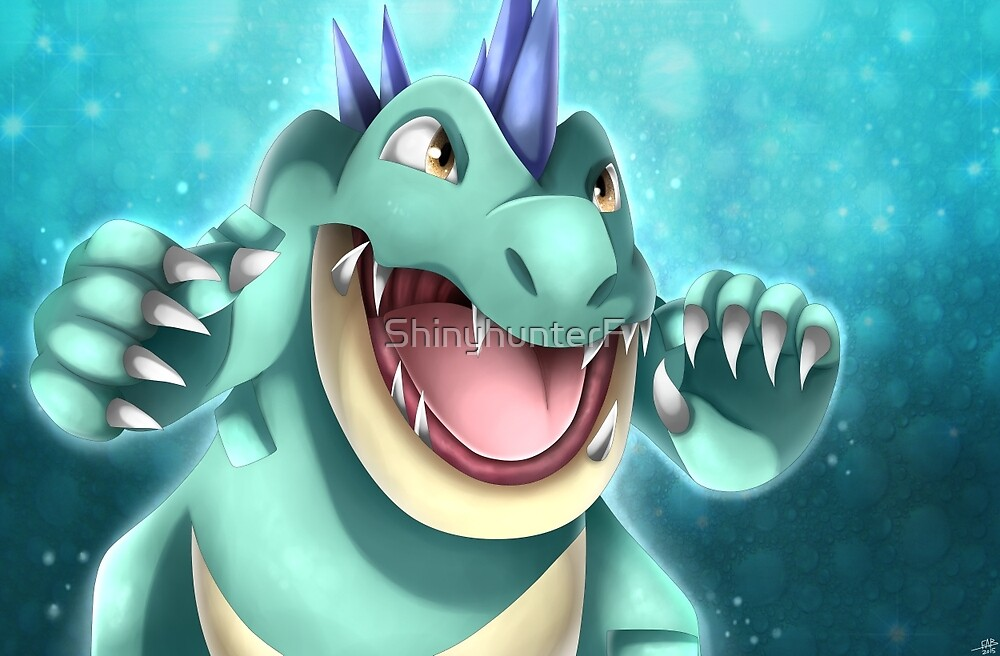 Shiny Feraligatr by ShinyhunterF