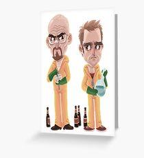 Breaking Bad - Jesse e Walter Greeting Card
