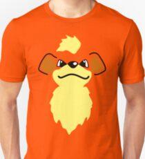 Flat growlithe Unisex T-Shirt