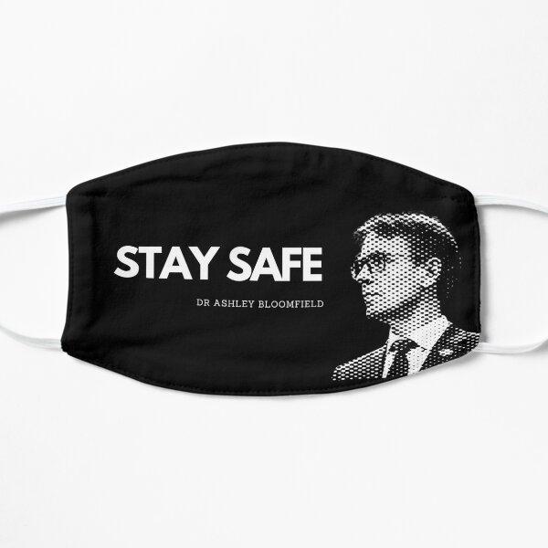 Dr Ashley Bloomfield - Stay Safe Flat Mask