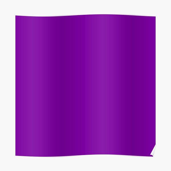Purple Color Poster