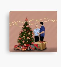 Merry Christmas - McDanno Canvas Print