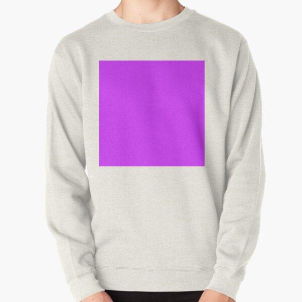 Neon Purple Pullover Sweatshirt