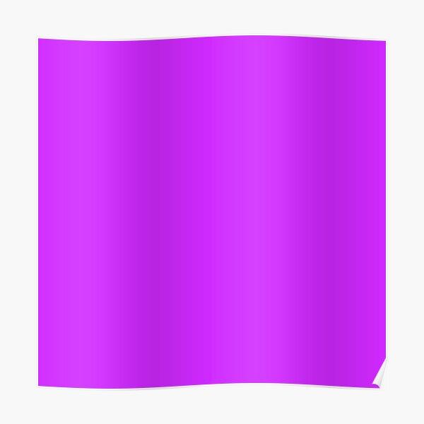 Neon Purple Poster