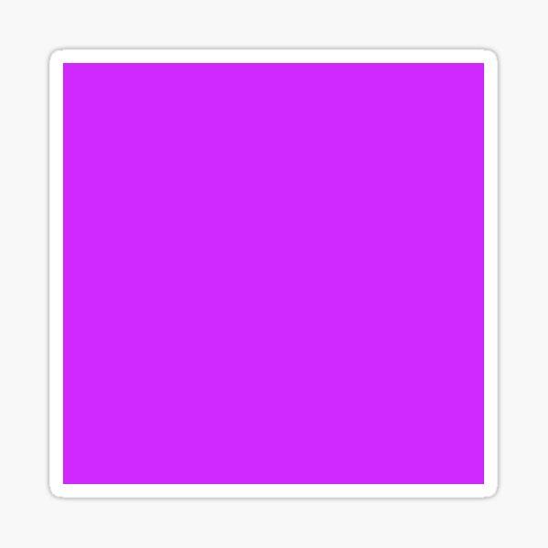 Neon Purple Sticker