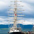 Ship, Sailing vessel, SV Tenacious, Docked, North pier, Oban  by Hugh McKean