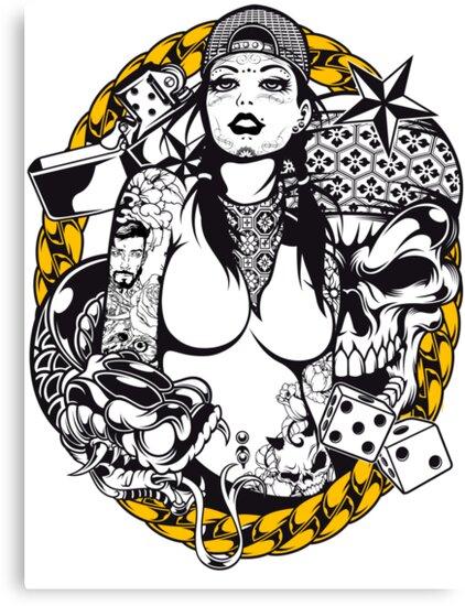 She's SO Gangster Muerte by Arek619