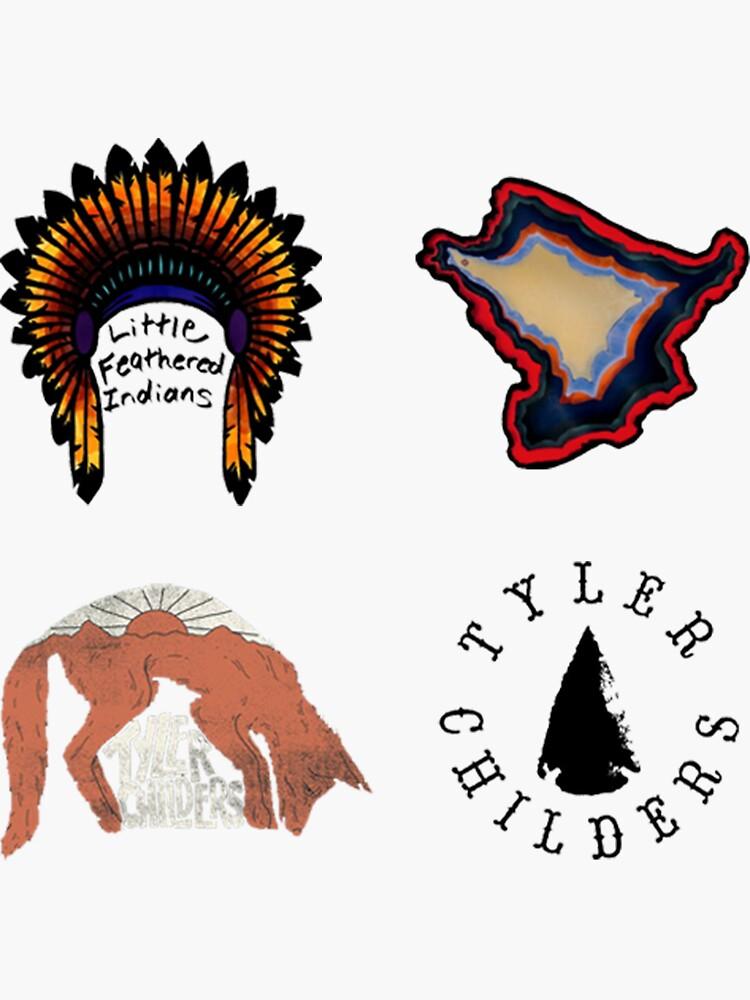 Tyler Childers Sticker Pack by BitOff
