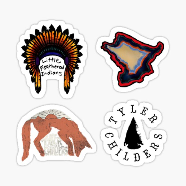 Tyler Childers Sticker Pack Sticker