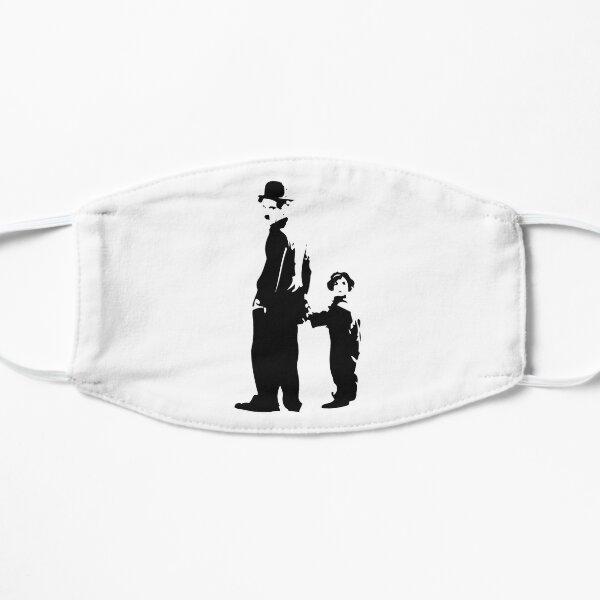Charlie Chaplin - The Kid 1921 - Obra de arte para la pared, pósters, impresiones, camisetas, bolsos, hombres, mujeres, niños Mascarilla