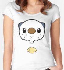 Oshawott Face Women's Fitted Scoop T-Shirt