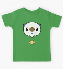 Oshawott Face Kids Tee