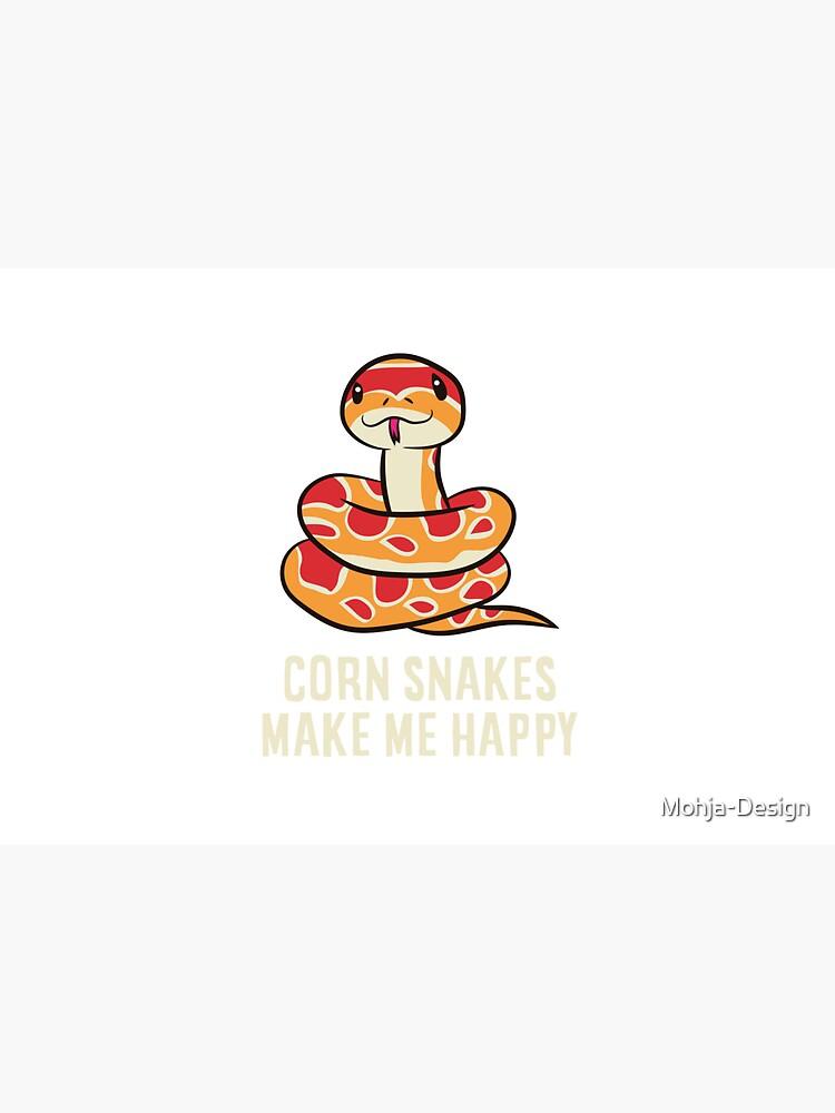Corn snake - Corn snakes make me happy by Mohja-Design