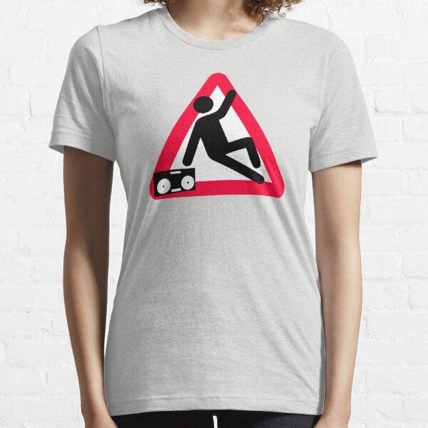 Caution: Breakdancing  Essential T-Shirt