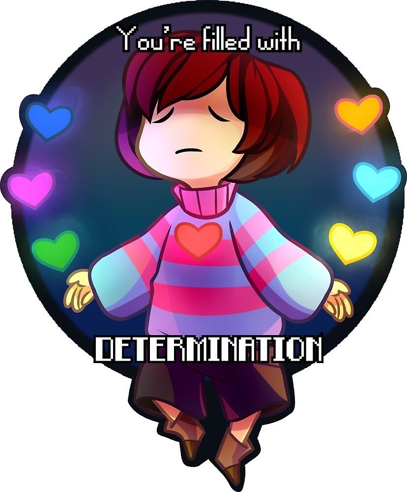 Determination! (Undertale) by BurningSulfurYT