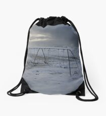 Swinging Tide Drawstring Bag