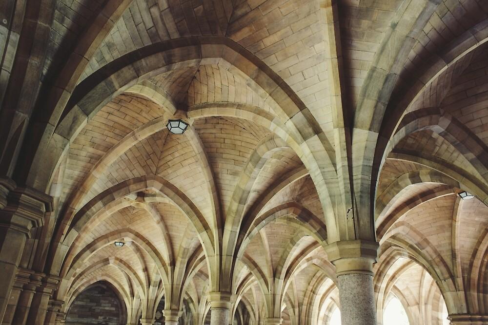 Glasgow University by Louise Bichan
