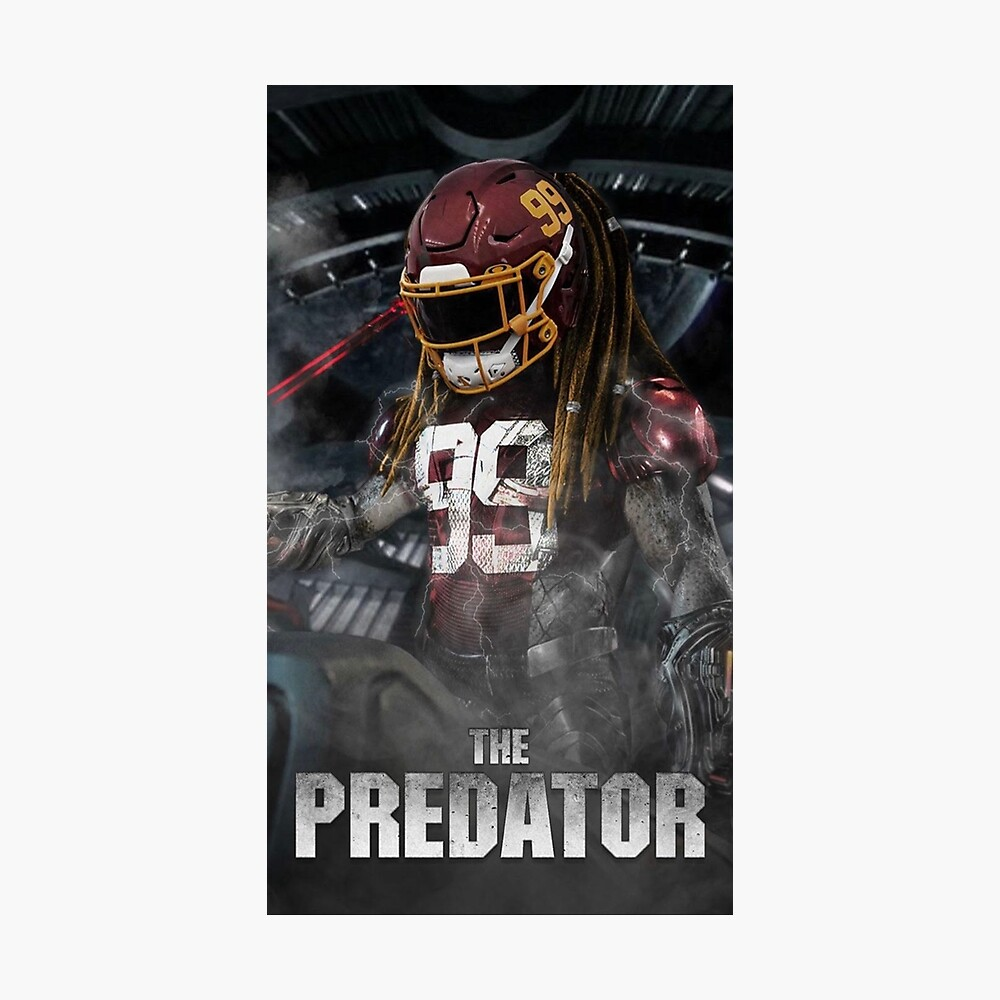 Chase Young Predator Poster By Galahadmw Redbubble