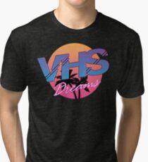VHS Dreams Summer Logo Tri-blend T-Shirt