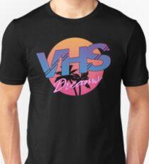 VHS Dreams Summer Logo Unisex T-Shirt