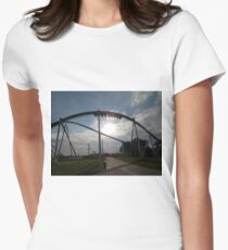 Fury 325 at Carowinds Women's Fitted T-Shirt