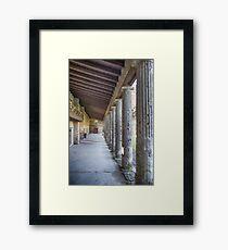 Pompei Framed Print