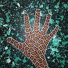 Paint my Hand 2 by LESLEY BUtler
