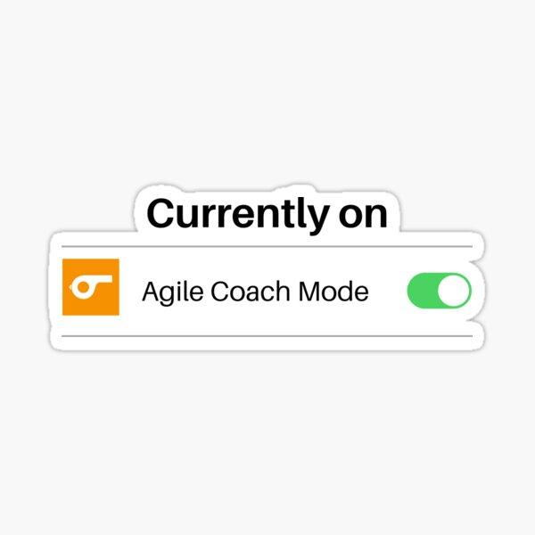 Agile Coach Mode Sticker