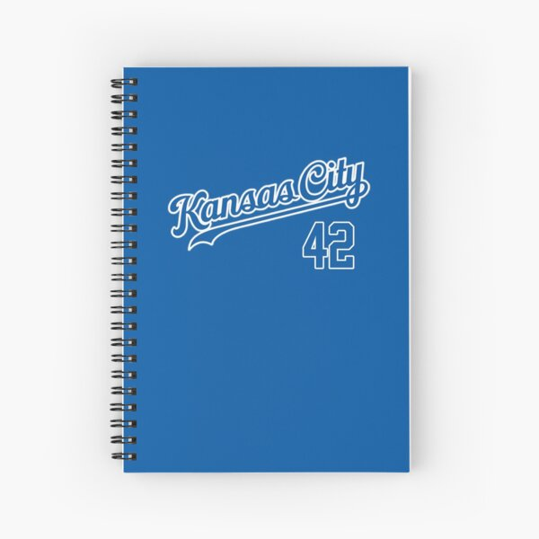 Royals 42 Kansas City  Spiral Notebook