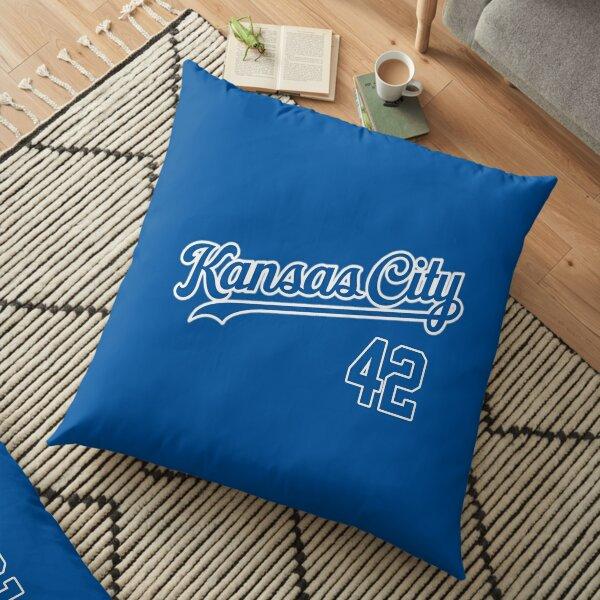 Royals 42 Kansas City  Floor Pillow