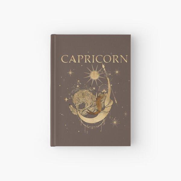 Capricorn zodiac woman Hardcover Journal